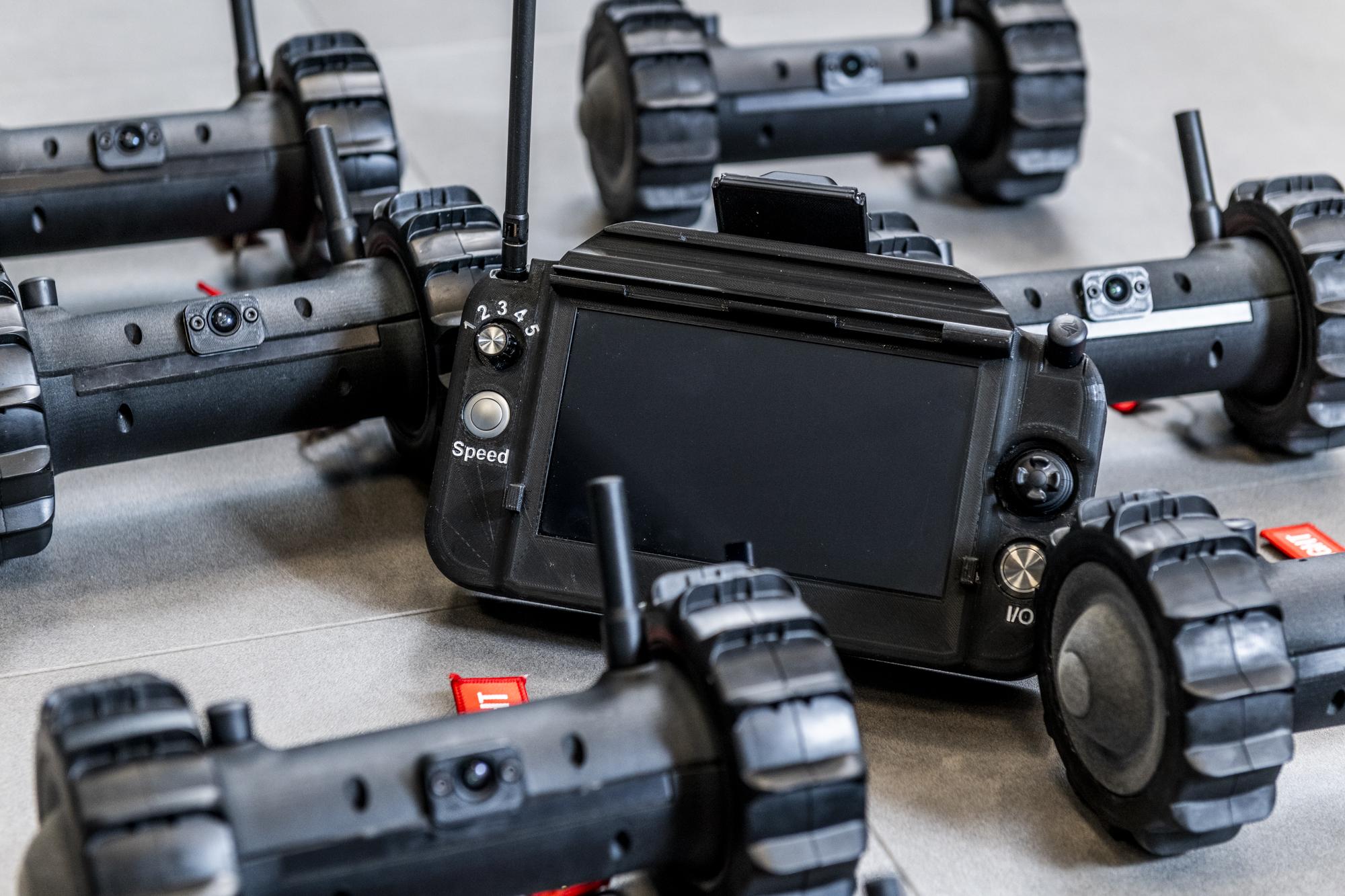 GCS Controller and Sita Robots