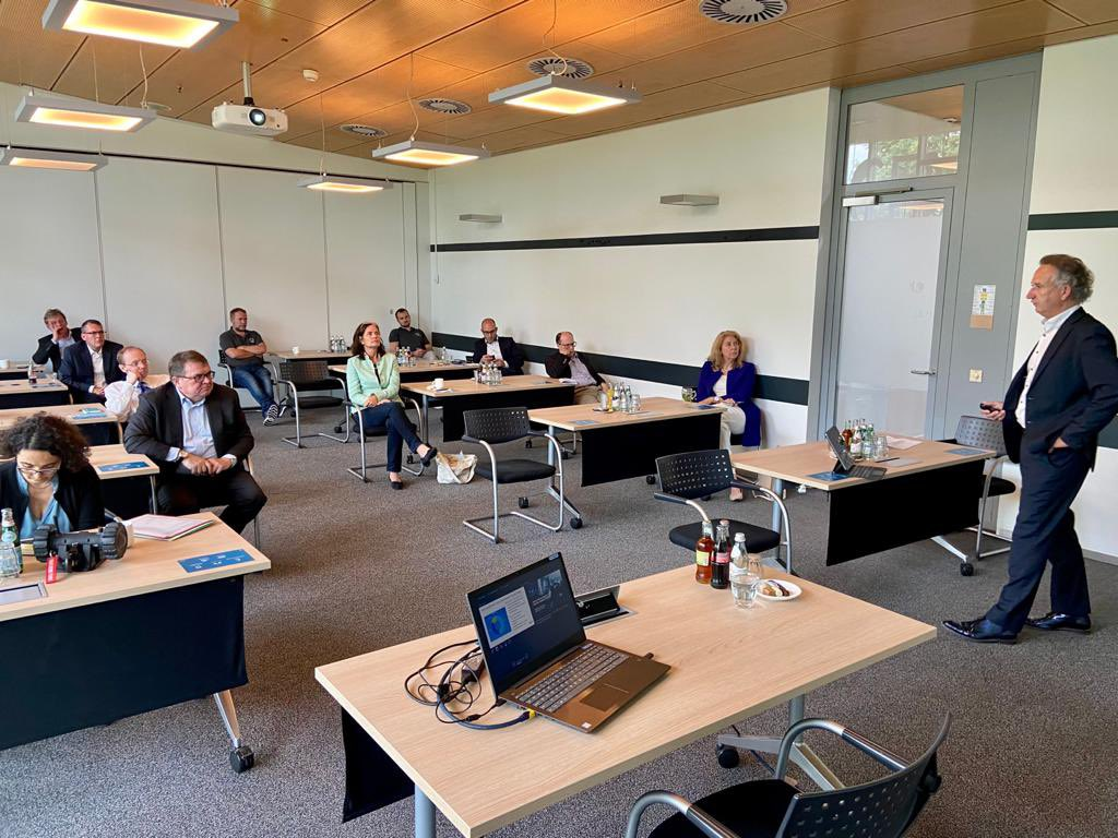 Hightech Campus visit NATO